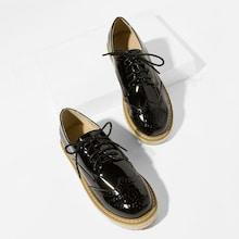 Shein Lace Up Espadrille Oxfords