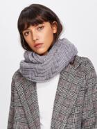 Shein Textured Knit Infinity Scarf