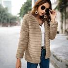 Shein Textured Faux Fur Teddy Coat