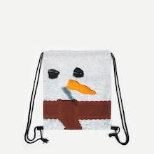 Shein Cartoon Design Drawstring Backpack