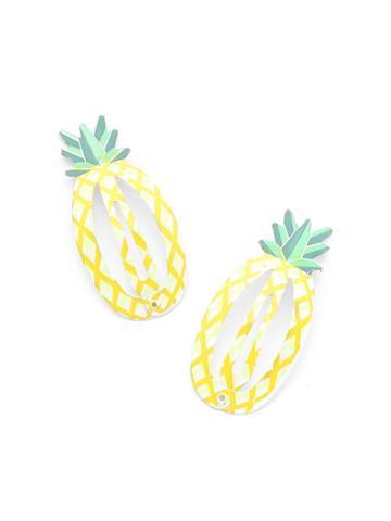 Shein Pineapple Shaped Hair Clip 2pcs