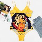 Shein Graphic Cami Bodysuit