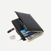 Shein Men Fold Over Pu Wallet