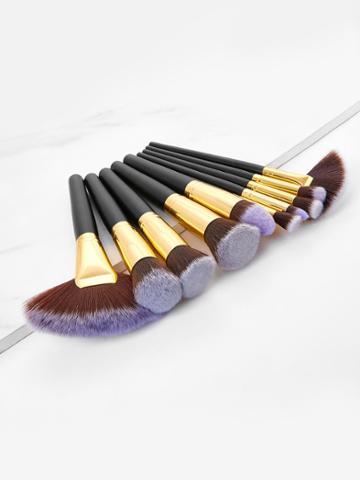 Shein Two Tone Makeup Brush 10pcs