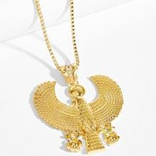 Shein Men Bird Pendant Necklace