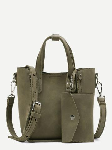 Shein Shoulder Bag With Purse