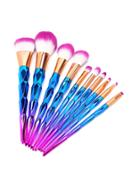 Shein Multicolor Makeup Brush Set