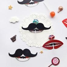 Shein Red Lips & Moustache Candy Card 50pcs