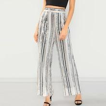 Shein Colorful Sequin Pants