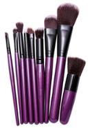 Shein 9pcs Purple Professional Makeup Brush Set