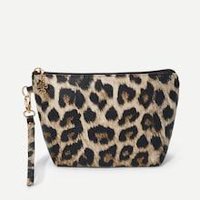 Shein Leopard Makeup Bag