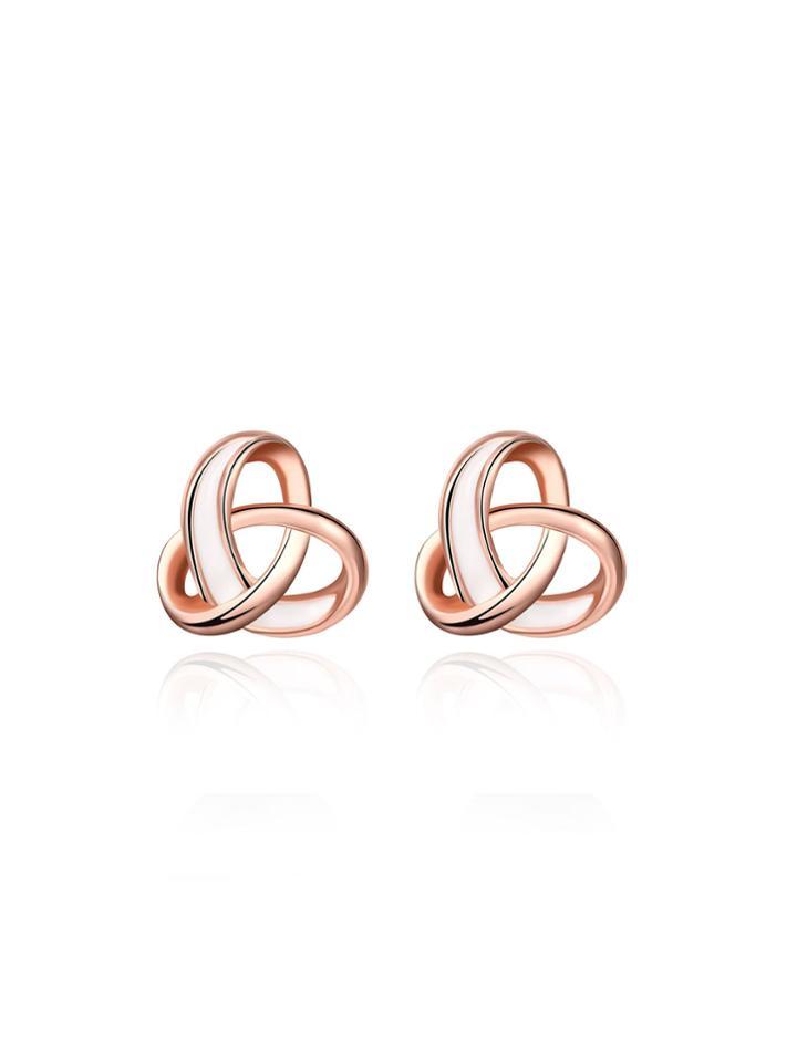 Shein Geometric Design Stud Earrings