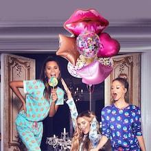 Shein Lip & Star Balloon 7pcs