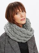 Shein Crochet Delicate Infinity Scarf