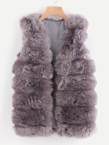 Shein Faux Fur Vest