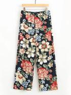 Shein Floral Print Loose Pants