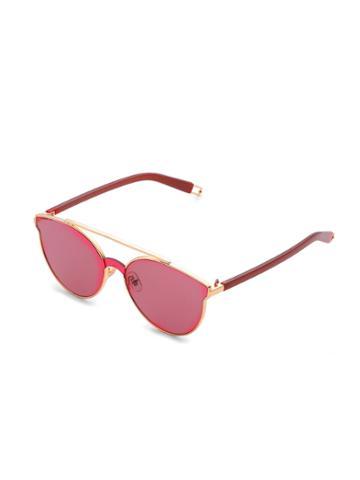 Shein Flat Lens Top Bar Sunglasses