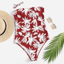 Shein Random Tropical Swimsuit