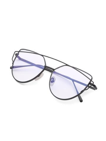 Shein Top Bar Flat Lens Glasses