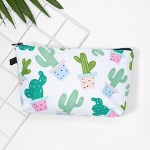 Shein Cactus Print Makeup Bag