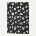 Shein Christmas Snowflake Print Scarf