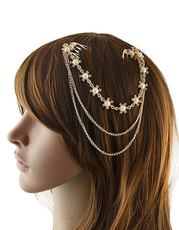 Shein Gold Plated Hair Accessories