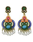 Shein Colorful Enamel Drop Earrings