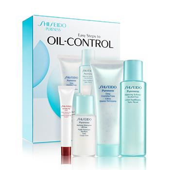 Pureness Easy Steps To Oil-control