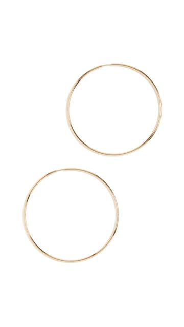 Maria Black Senorita 70 Hoop Earrings