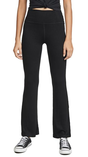Beyond Yoga Step Beyond High Waisted Mini Bell Pants