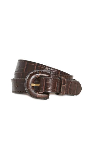 Madewell Croco Belt