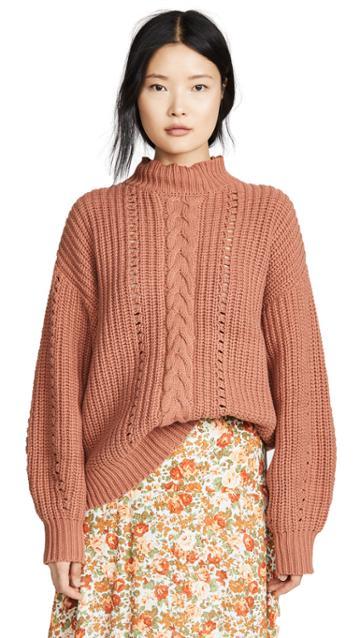 Lost Wander Lasso Sweater