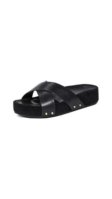 Stella Luna Wrapped Slide Sandals