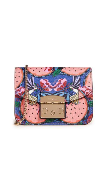 Furla Metropolis Watermelon Cross Body Bag
