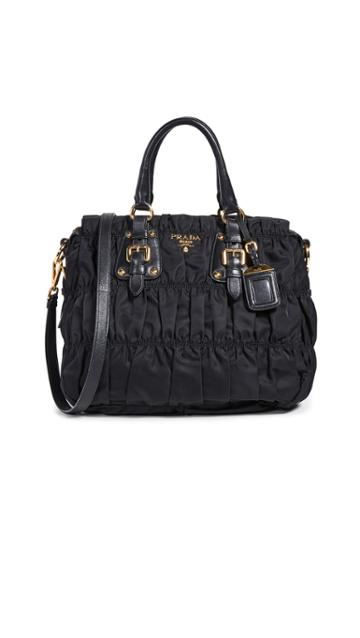 What Goes Around Comes Around Prada Tessuto Gaufre Bag