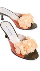 Leandra Medine Floret Flower Mules