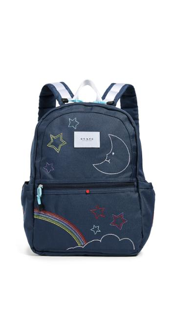 State Kane Embroidered Backpack