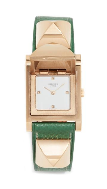 What Goes Around Comes Around Hermes Gm Epsom Medor Watch 23mm