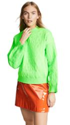 Msgm Cable Knit Sweater