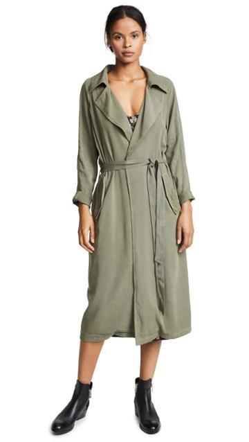 Rachel Pally Twill Trench Coat