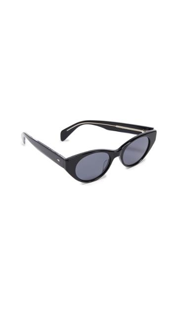 Rag Bone Thin Cat Eye Sunglasses