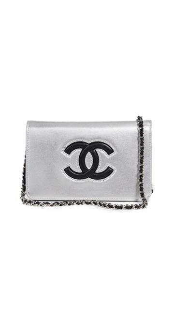 What Goes Around Comes Around Chanel Timeless Cc Wallet On A Chain