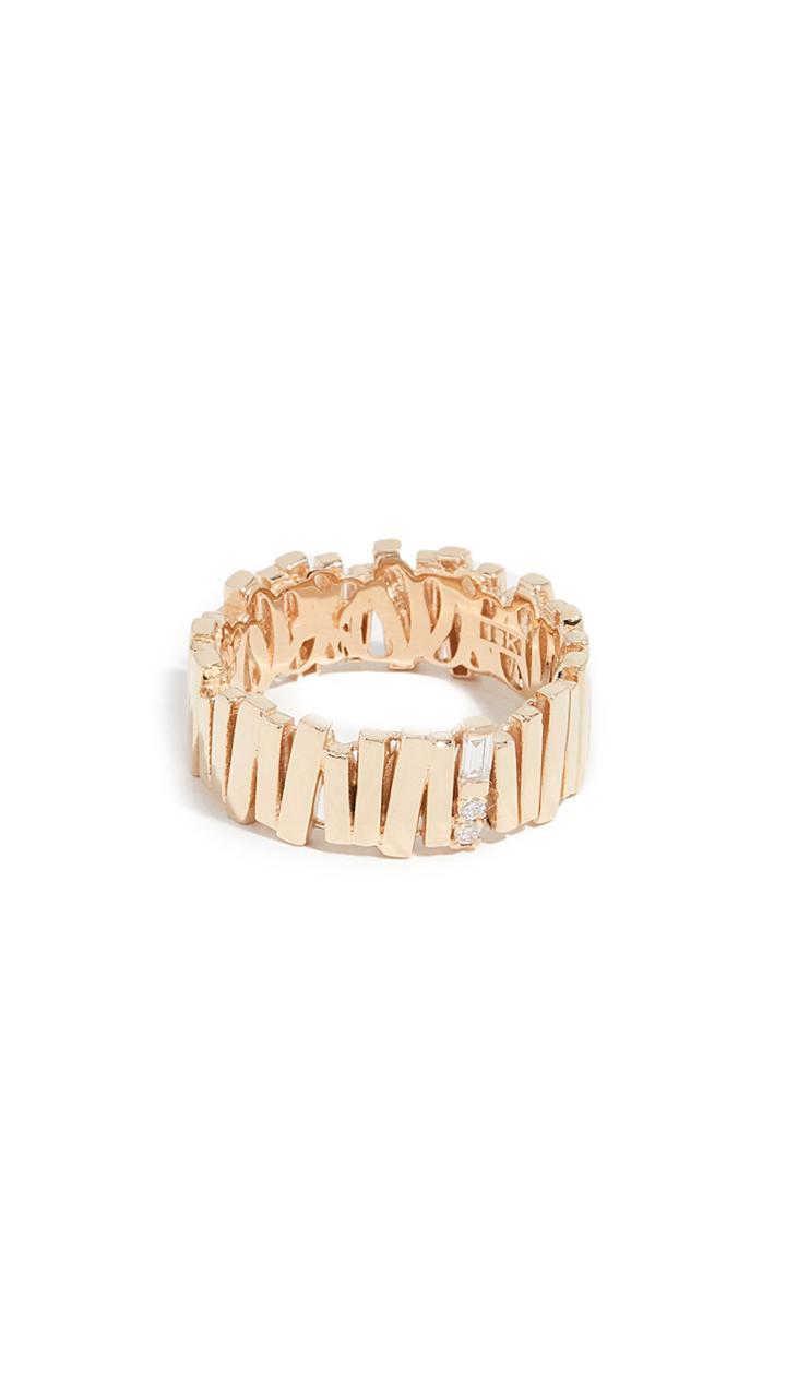 Suzanne Kalan 18k Gold Eternity Ring