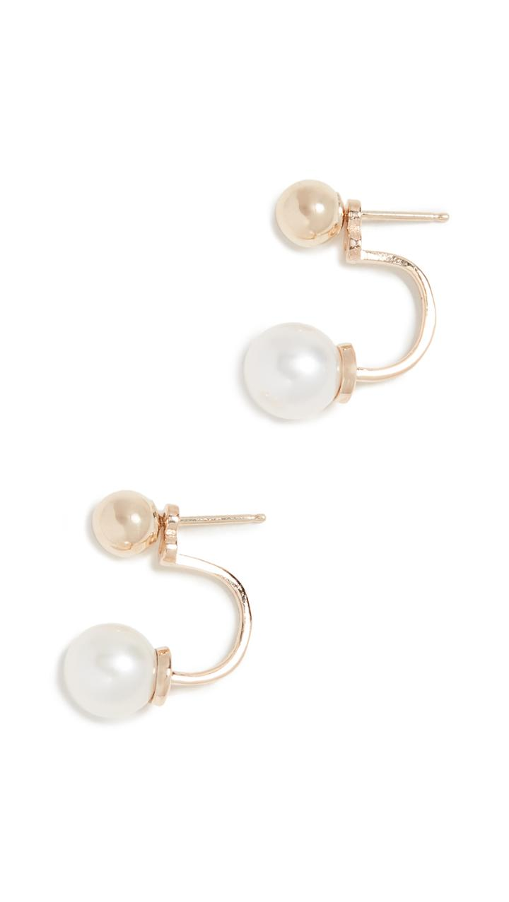 Mateo 14k Gold With Freshwater Cultured Pearl Drop Earrings