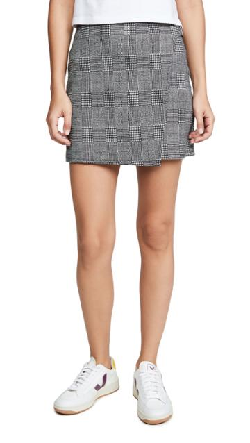 Bb Dakota Jack By Bb Dakota Plaid But True Skirt