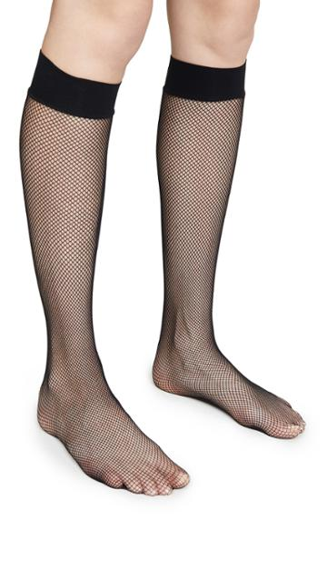 Wolford Twenties Fishnet Knee Hi