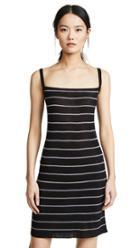 Splendid 2x1 Rib Ruched Dress