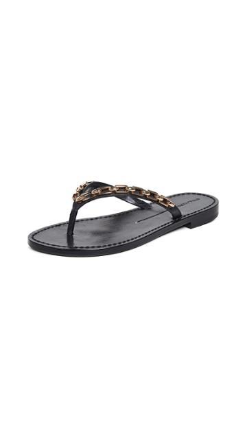 Stella Luna Chain Thong Sandals