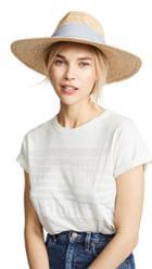 Hat Attack Mixed Raffia Continental Hat