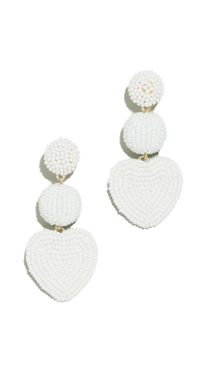 Baublebar Heart Drop Earrings